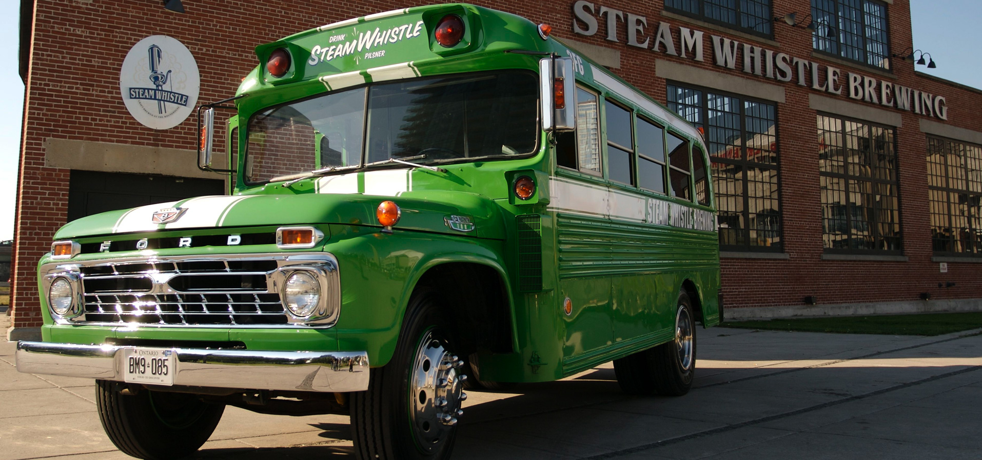 Steam Whistle Shuttle Bus (Sat Aug 29 – All Day)