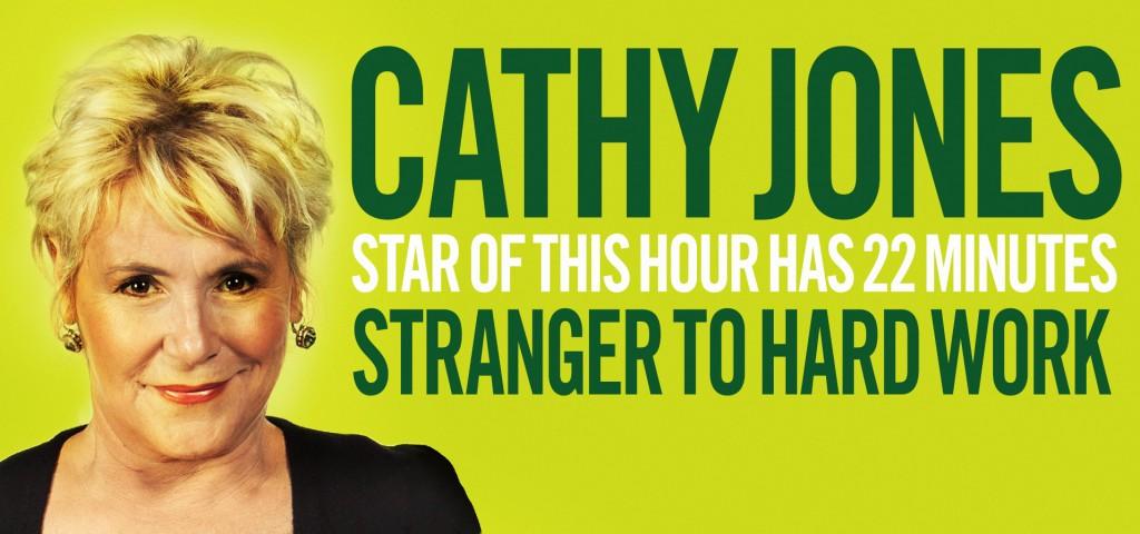 Cathy Jones: Stranger to Hard Work