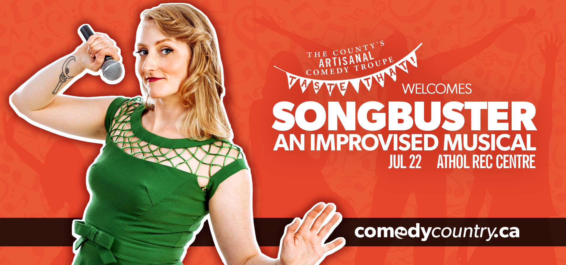 SONGBUSTER: An Improvised Musical