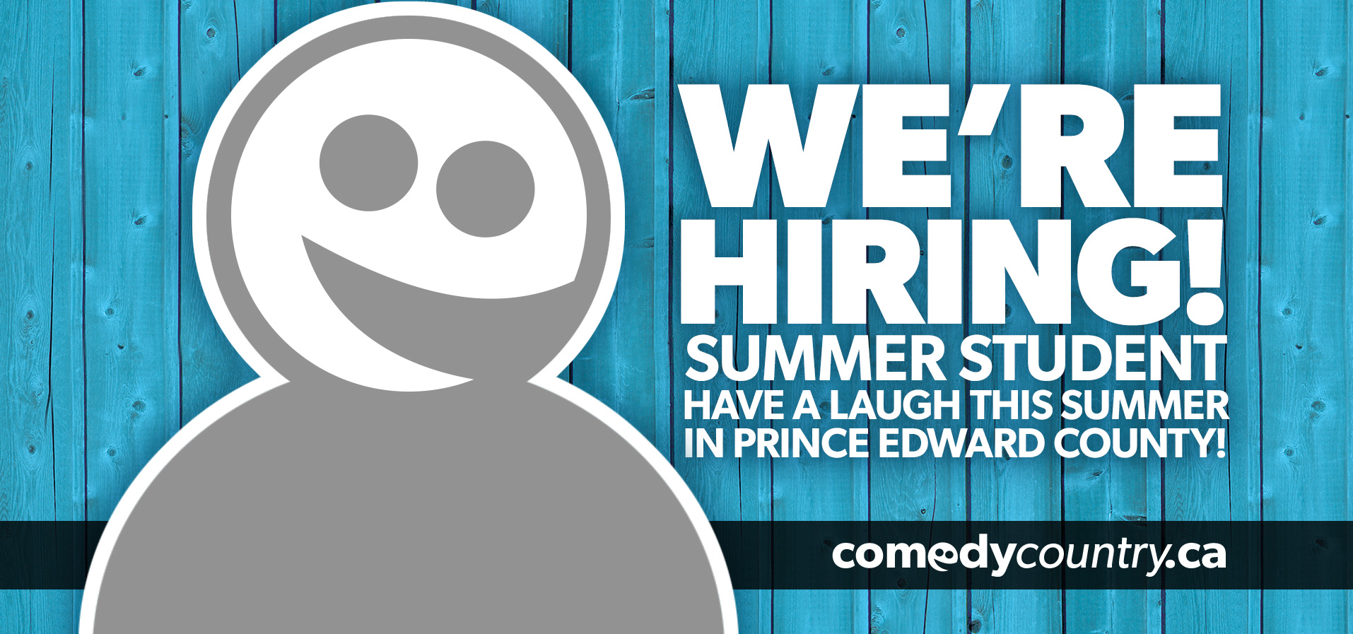 Comedy Country is Hiring!